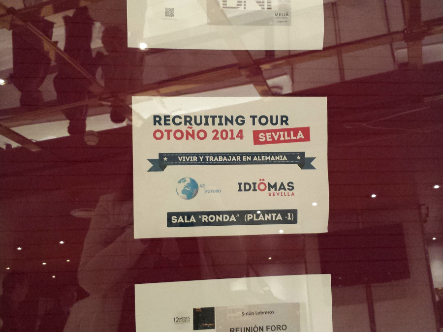 recruiting tour, az futuro, recruiting tour en sevilla, recruting tour az futuro, que es una recruiting tour