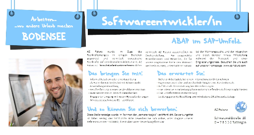 SAP, Softwareentwickler ABAP, Softwareentwickler Jobs